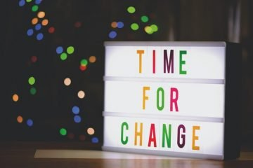 Time For Change on Sign
